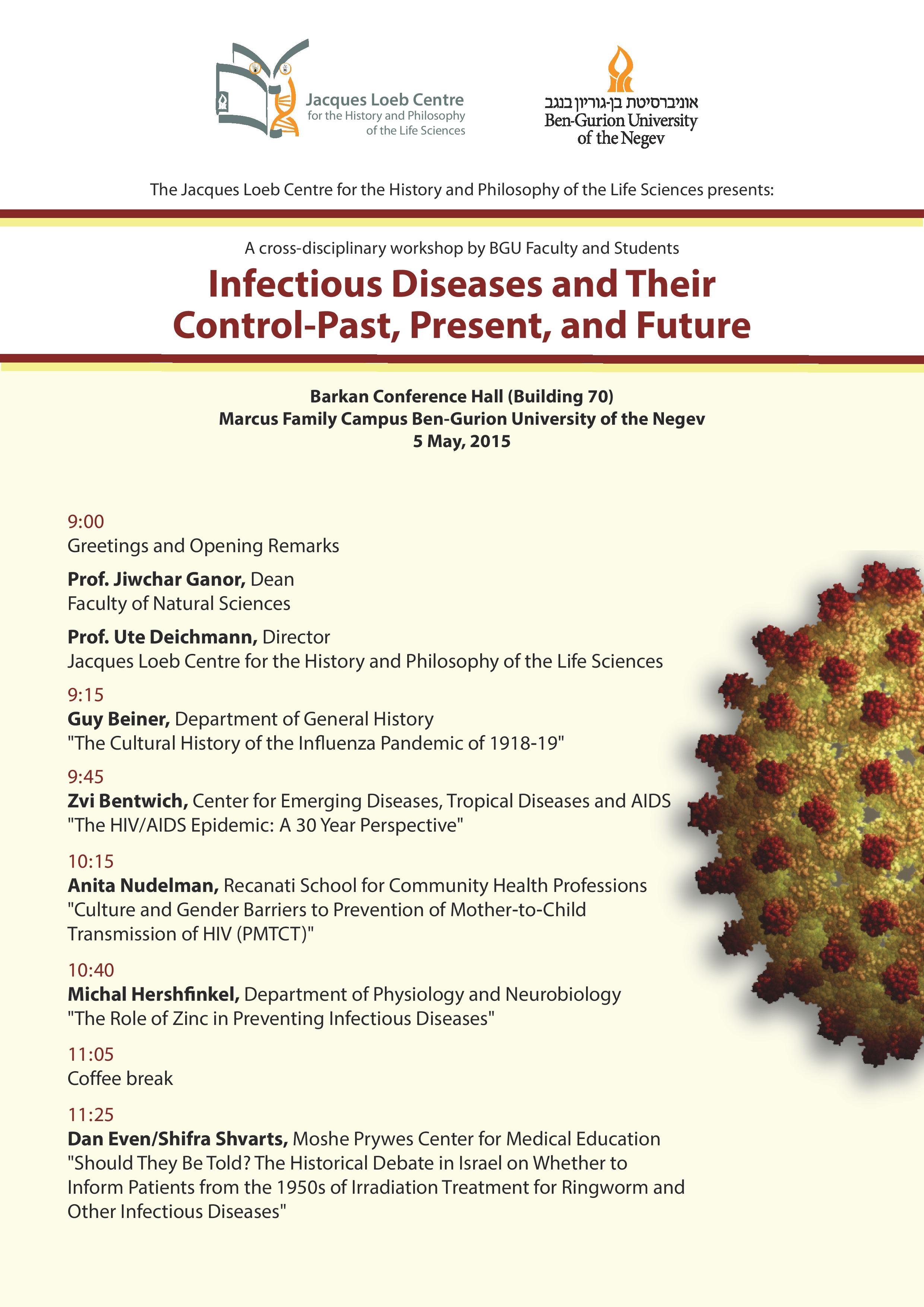 Infectious Diseases and their Control: Past, Present, and
